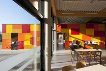 Schools of Tomorrow / Each school is unique, the same as its dedicated staff and students. Here is a collection of schools that have used Trespa Meteon to give character to their façades and to embody their joyful spirit.
