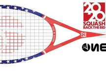 One Sport Squash Rackets / by Squash Source