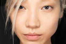 Soo Joo Park / Blond asian Modell