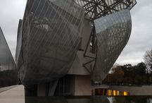 Fondation LOUIS VUITTON / pic Inside and outside !
