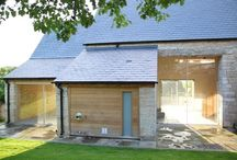 Barn Conversion, Gloucestershire / This Barn was saved from the point of collapse, and converted to create stylish leisure facilities and guest accommodation for the adjoining Farmhouse.