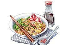 food art draw