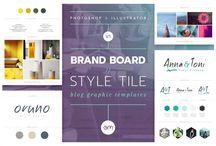 Branding / Branding - Design - Graphics - inspiration - web design - blog - bloggers