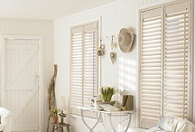 Shutters / Wooden or Plantation Shutters are highly durable and a great addition to your interiors.