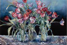 My Artist:Yvonne Hamingway-Watercolour