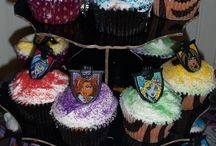 Monster High / Monster High themed birthday party ideas and cakes.
