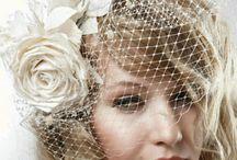 Свадебные шляпки и вуалетки / Большой выбор готовых украшений для свадебной прически также я принимаю заказы, обращайтесь