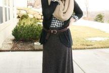 Winter Modesty