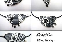 Zentangle pendant