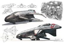 Sci-Fi vehicles, aircraft and ships