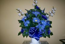 Silk Flowers / Beautiful silk flowers from The Casket Store are a great way to save on the cost of a funeral. http://www.thecasketstore.com