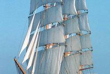 Парусники. The ships.