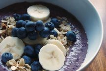 Smoothie bowl inspirations