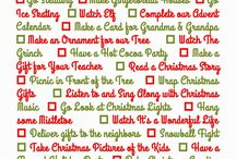 Bucket Lists for Holidays and Seasons / Ideas for things to cross of your bucket list during the holidays and throughout the year
