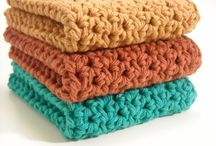 Crochet wash / dish cloths