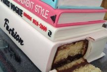 Incredible Edible Books / Cakes, Cookies, Cupcakes and more that center around book themes