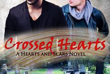 K.Vale, Crossed Hearts (Hearts and Scars #1) / Gay Romance. Ex Porn Star Heart Transplant Recipient & Paramedic/Mortician. Second Chances. Contemporary.