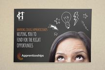 Our Work - Havering College of F & HE - Marketing campaign / We create unified and simpler marketing campaign for careers service.