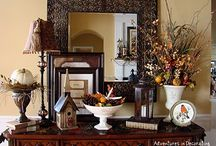Entry way Table ideas / by Aimee Gales Shepley