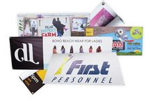 PVC Banners / PVC Banners provide a quick and affordable means of advertising. They can be displayed indoors or outdoors for commercial and domestic purposes.
