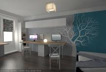 renovation: living+bedroom+balcony