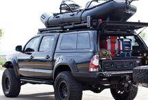 Pickup off road equipment
