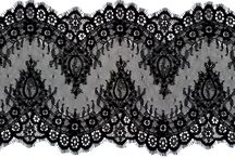 lace / embroidery (machine/chemical)