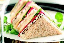 Sandwiches, tostas y rolls