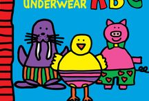 ABC Animals in UNDERWEAR by Todd Parr / Available for pre-order now. From alligator to zebra - with a goldfish, iguana, yak, and even a unicorn in between - there's no better way to learn the alphabet than with animals... in underwear!  Todd Parr's signature kid-friendly illustrations and bold colors showcase an array of animals in all kinds of hilarious underwear styles, making learning the alphabet tons of fun. Featuring a padded cover and gate folds on every spread, here's a playful, silly way for kids to learn their ABCs!