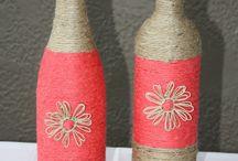 Bottles - glass diy