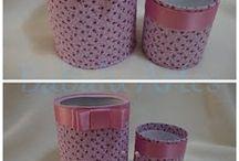 latas e vidros decorados