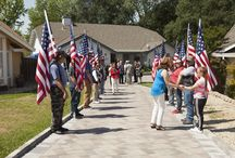 System Pavers Donation Ceremony / System Pavers Donates Gold Star Memorial For a Fallen Warrior.
