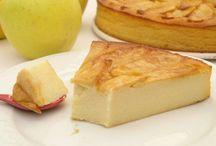 tarta de manzanay pera.