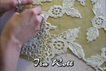 crochet irlandés