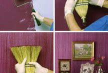 sposoby malowania ścian