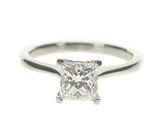 Diamond engagement rings / A selection of diamond engagement rings available from Jacobs the Jewellers.