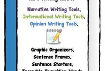 Writing Resources / Educational resources that can be used to guide young writers.