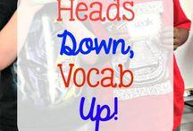 vocabulary / by Marisa Efird
