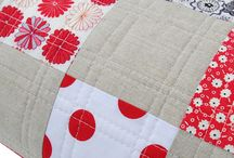 Quilt stitching patterns