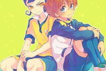 Arion x Victor ♥♥ / They come from Inazuma Eleven Go <3