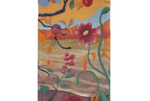 Flower Paintings iPhone 6 Cases / Flower Painting iPhone 6 Case