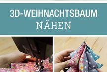 návody na šití-weihnachtsbaum