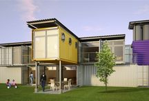 """Container living """"Cargotecture"""""""