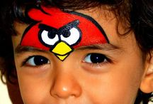 Facepaint - Angry Birds