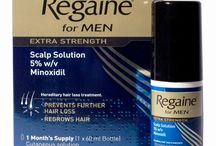 Hair Loss / Treatments and products designed to halt and reverse hair loss (androgenic alopecia / Male pattern baldness) in men and women.