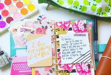 Colourful planners / Ggcc