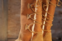 Walking in nice shoes