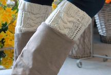 Accesorios tejidos / Accesorios tejidos a mano