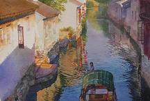 Aquarelle :: Zhou Tianya