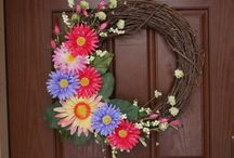 Wreaths and Cards / Wreaths, and greeting cards of every variety, from all holidays, and every style